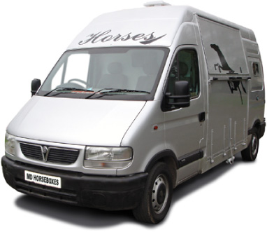 Spacer 35 Ton Vauxhall Movano Horsebox
